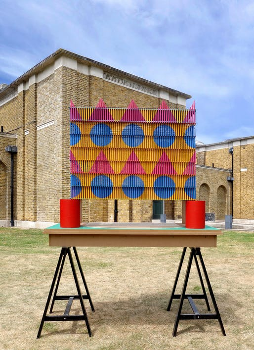 Model, 2019 Dulwich Pavilion by Pricegore and Yinka Ilori.