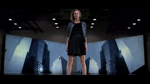"""Excerpt from """"The United States of Fashion Designer Elie Tahari"""" by David Serero.  Image courtesy of the Moscow International Design Film Festival."""