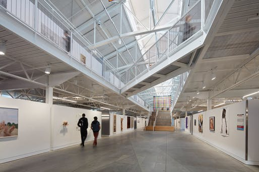 Architecture - Citation: San Francisco Art Institute at Fort Mason by Leddy Maytum Stacy Architects. Photo: Bruce Damonte.