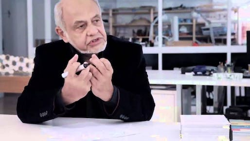 Cecil Balmond in a Youtube video discussing the 3 conceptual models of architecture.