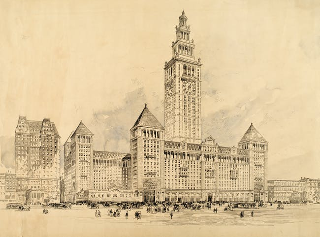 Mckim, Mead and White Grand Central Terminal (1903). Courtesy of Distributed Art Publishers, Inc.