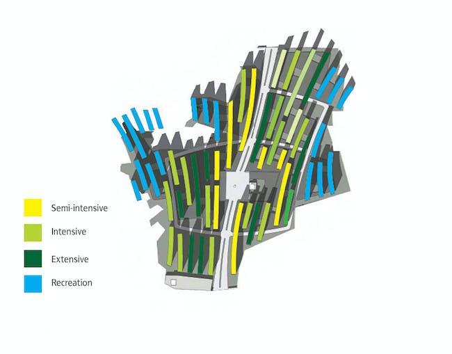 Green roof strategies (Image: JET)