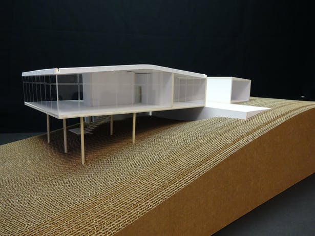 Li Na BoBardi Glass House, Precedence Case Study 'Add a room'