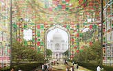 A green proposal for the Black Taj competition promotes preservation