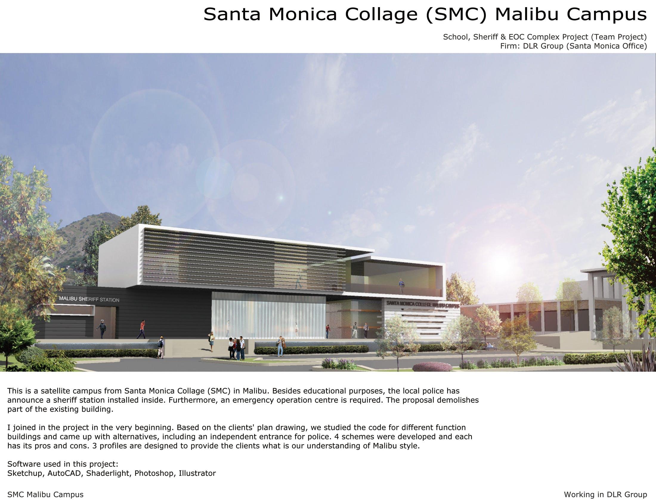 Santa monica collage smc malibu campus jili huang for Malibu motors santa monica