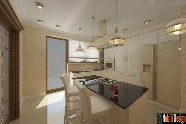 Design interior bucatarii clasice - Amenajari interioare