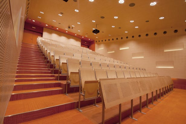 B lecture hall