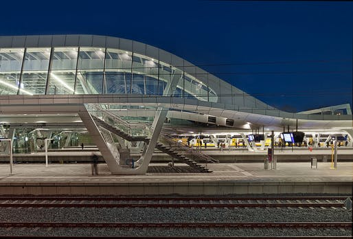 Urban Developments & Initiatives category​ winner: Arnhem Central Station​, Arnhem, The Netherlands by UNStudio. Photo: Ronald Tilleman