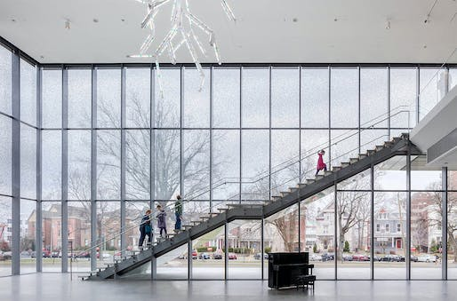 Interior of the Louisville Speed Art Museum which Yantrasast's firm wHY completed in 2016. Photo: Rafael Gamo.