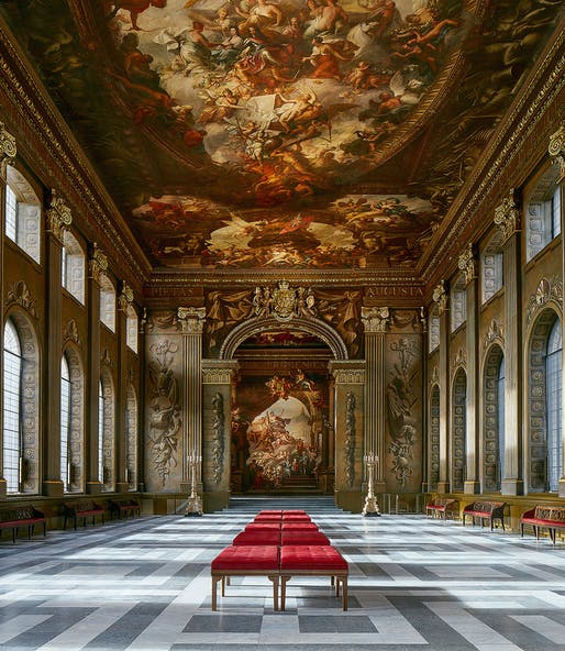 The Painted Hall, by Hugh Broughton Architects. Photo: James Brittain.