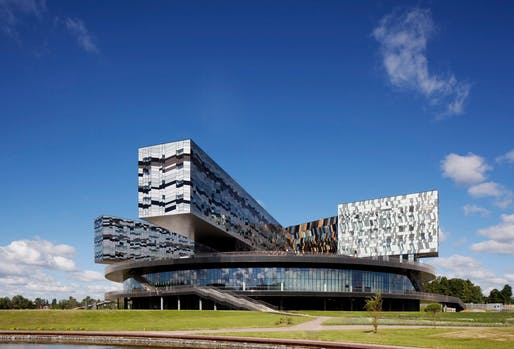 Moscow School of Management by Adjaye Associates.