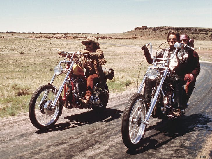 This isn't how we roll, anymore: 20th century thinking courtesy 'Easy Rider' (image via arizona.newszap.com)