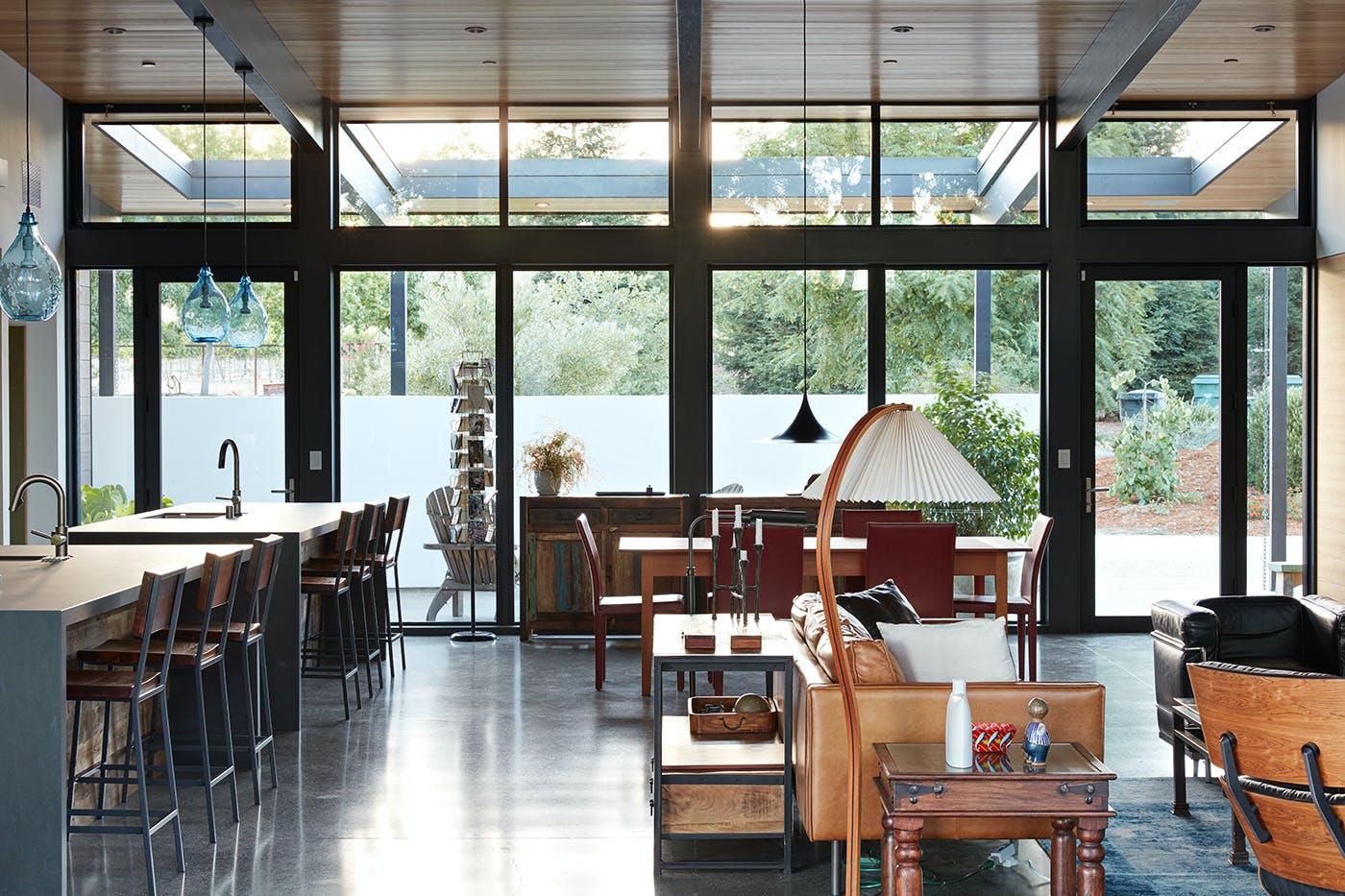 Sacramento modern residence by klopf architecture klopf for Architecture firms sacramento