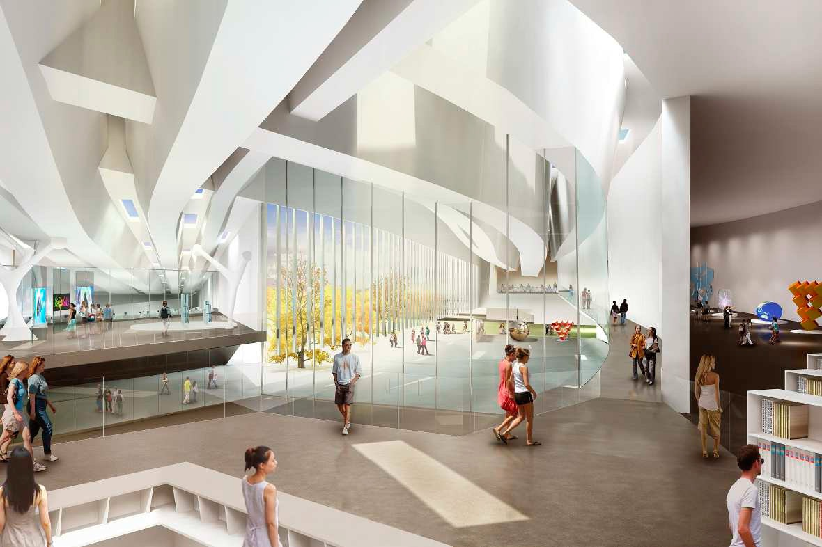Proposed Center For The Promotion Of Science In Belgrade, Serbia By RTA  Office