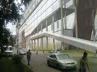 Zlatoustivska office building