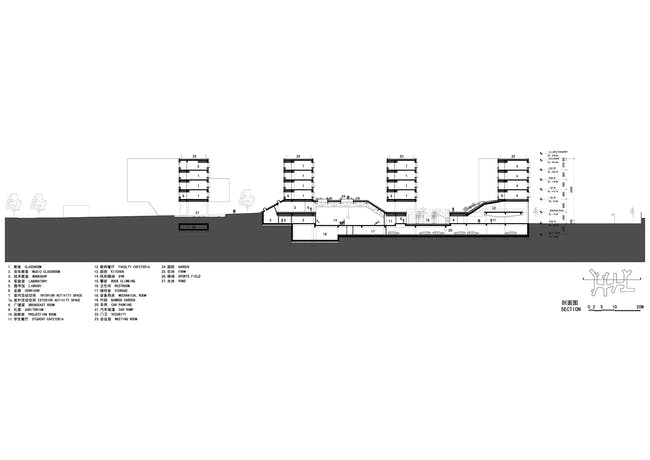 Section C. Image courtesy of OPEN Architecture