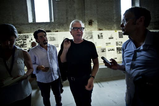 David Chipperfield, curator of Common Ground (Photo: La Biennale di Venezia)