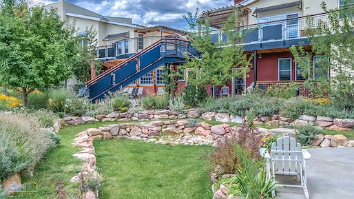 Silver Sage Village, a cohousing community in Boulder, Colorado