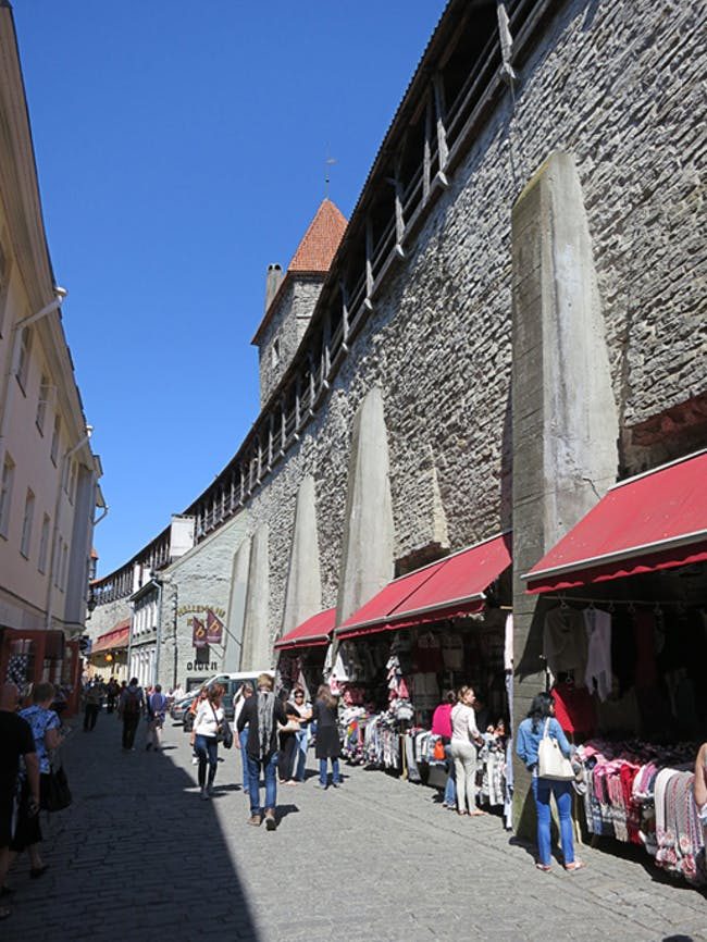 Tallinn's Margaret Wall via Jennifer Wong