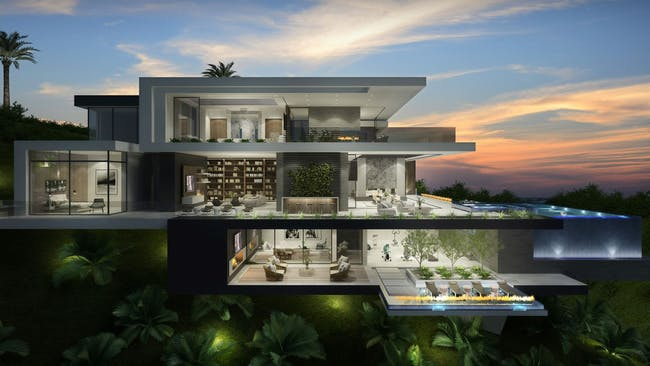 Sunset Plaza by IR Architects + CLR Design Group.