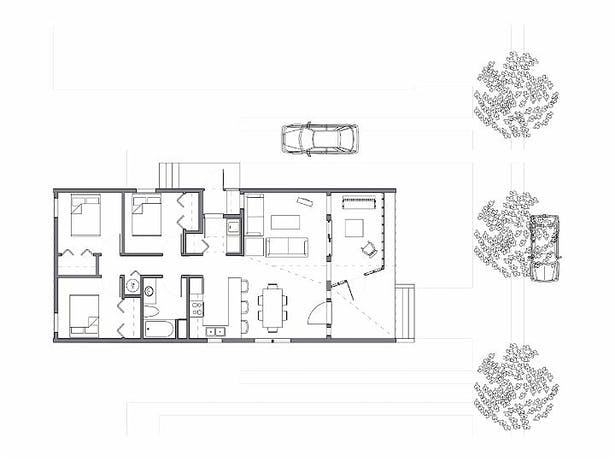 LowRowHouse Plan