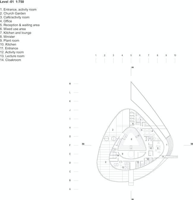 Level -01 (Image: schmidt hammer lassen architects)