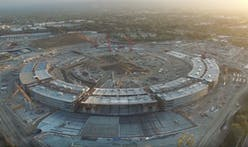 Construction update: More (unofficial) drone footage of Apple's spaceship campus