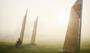 A prize-winning installation pays tribute to a historical Quebec village