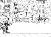 Study Abroad Sketches, Italy 2010
