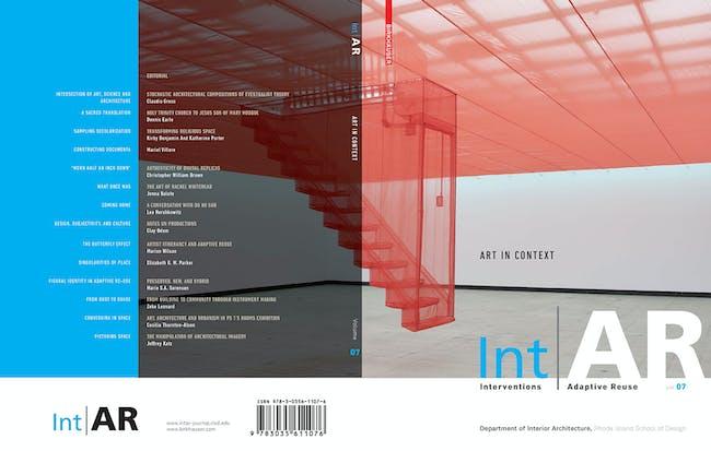 Int|AR journal V07, cover