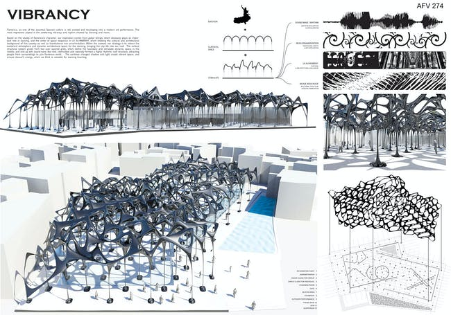 Honorable Mention: Cheng Gong / Jinming Feng; Southern California Institute of Architecture, Los Angeles, CA, USA
