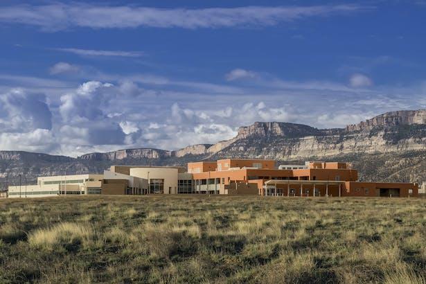 Kayenta Health Center. Photo courtesy of Kirk Gittings.