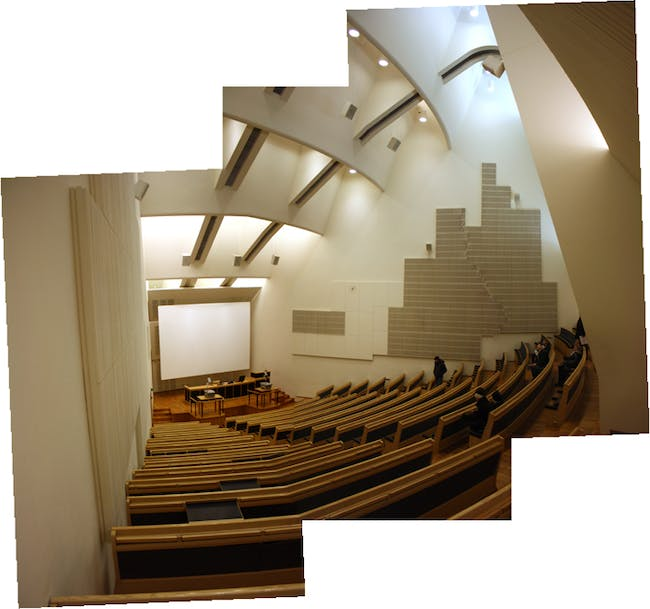 Lecture hall of Aalto University