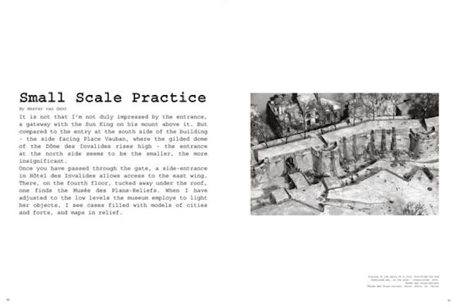 Small Scale Practice by Hester van Gen