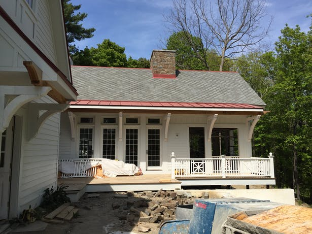 GREAT ROOM SCREEND PORCH ADDITION
