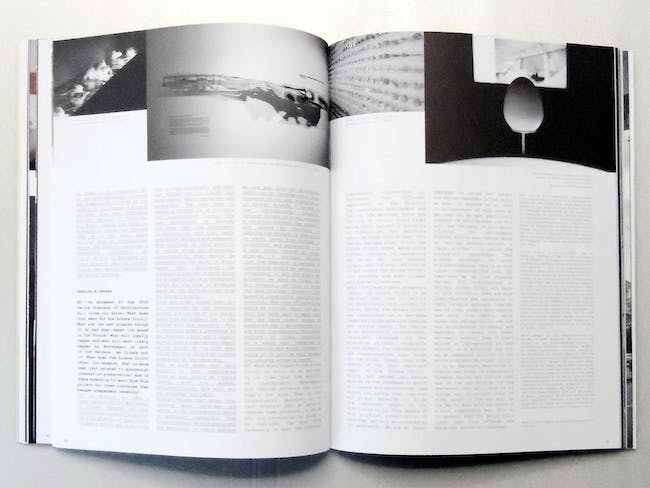 Pages 56-57. Interview with Bart Lootsma and Dijana Vucinic Pink Flamingos and Muscular Men. Exhibition and forum for debate in Venice.