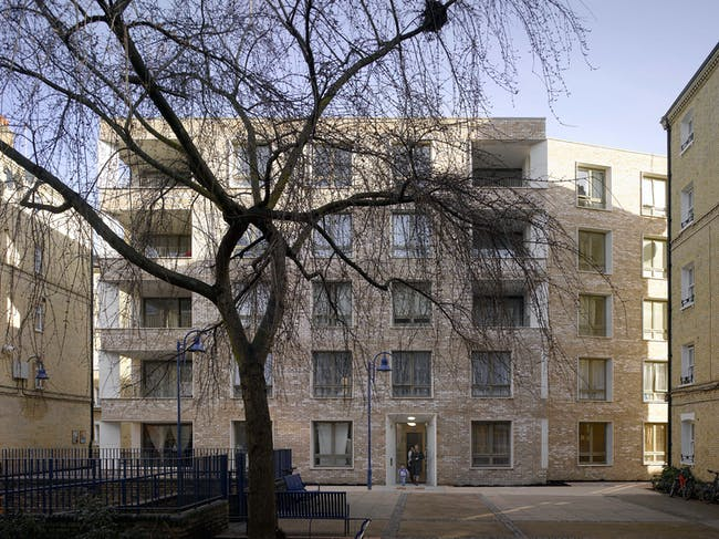 Darbishire Place, E1 by Niall McLaughlin Architects. Photo © Nick Kane.
