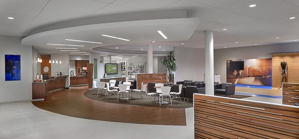 Renovated Lounge Area