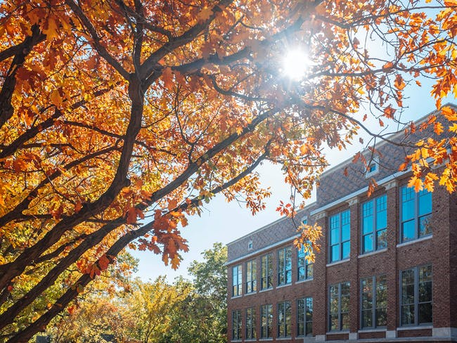 Front exterior of Bancroft School project. Photo credit Matt Kleinmann.