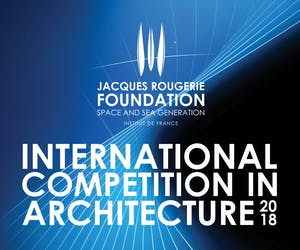 International Competition in Architecture - Jacques Rougerie Foundation