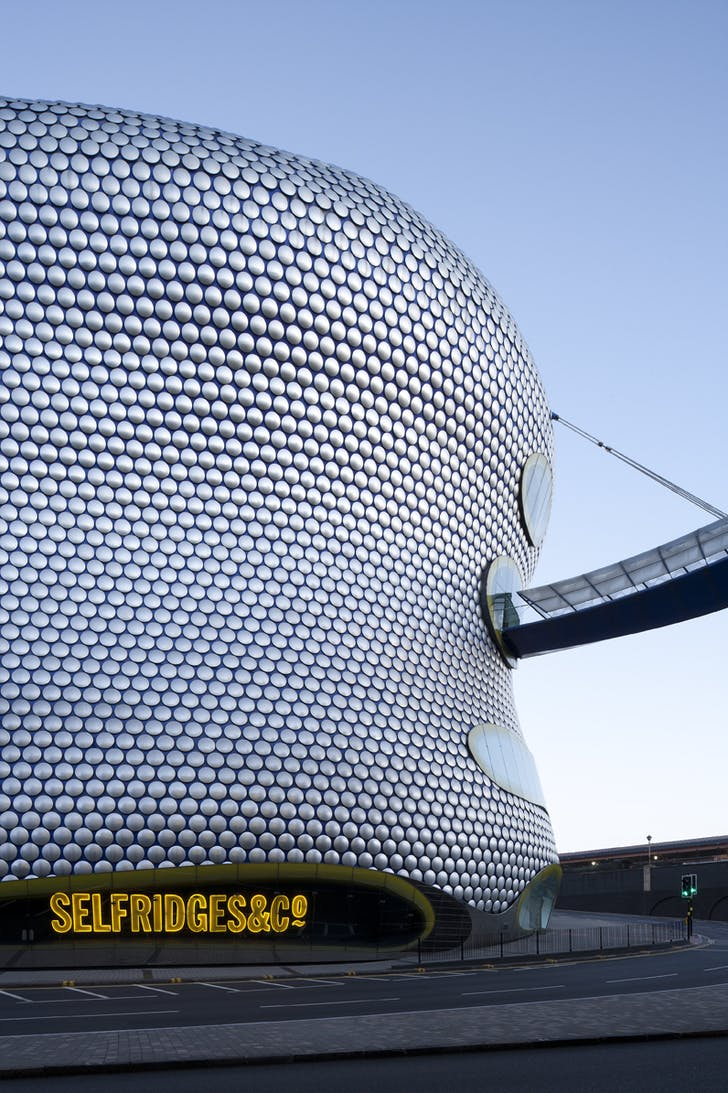 Selfridges Building by Future Systems, Birmingham, UK, 2003