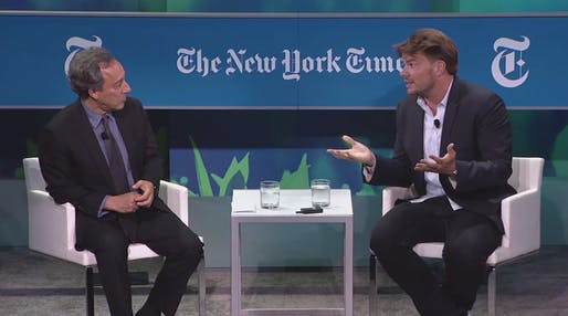 Michael Kimmelman and Bjarke Ingels converse about the issues, sort of.
