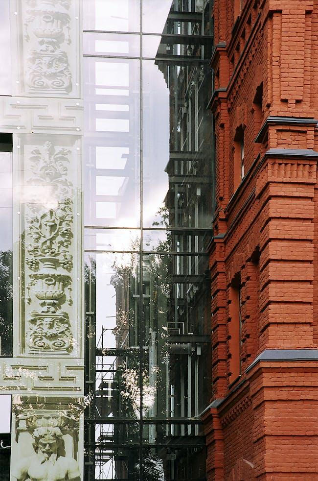 Business House Langenzipen in St. Petersburg, Russia by nps tchoban voss; Photo: Bernhard Kroll