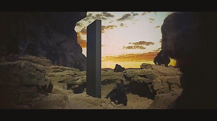 '2001: A Space Odyssey' (1969).