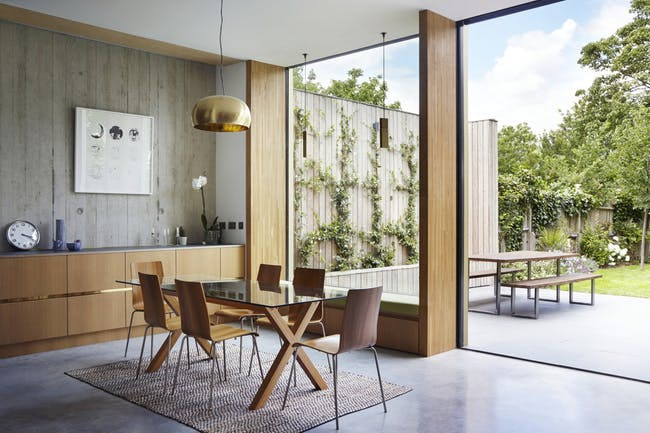 Pear Tree House in East Dulwich, UK by Edgley Design