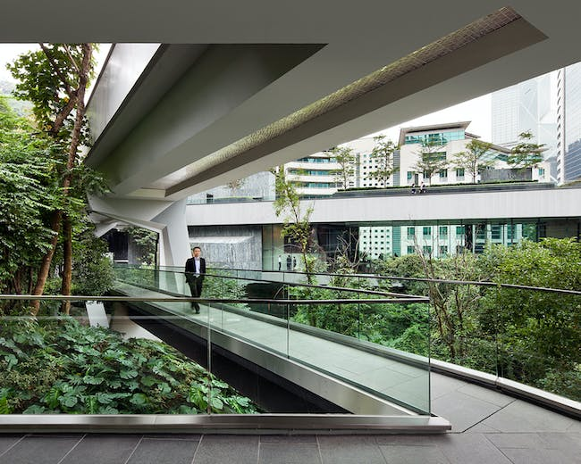 Asia Society Center; Admiralty, Hong Kong by Tod Williams Billie Tsien Architects | Partners; Associate Architect: AGC Design Ltd.; Associated Architects Ltd. Photo by Michael Moran.