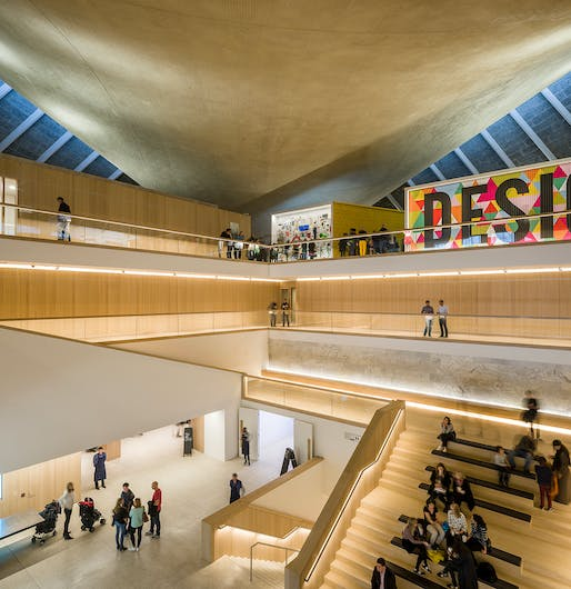 Design Museum located in west London. Image: Gareth Gardner.