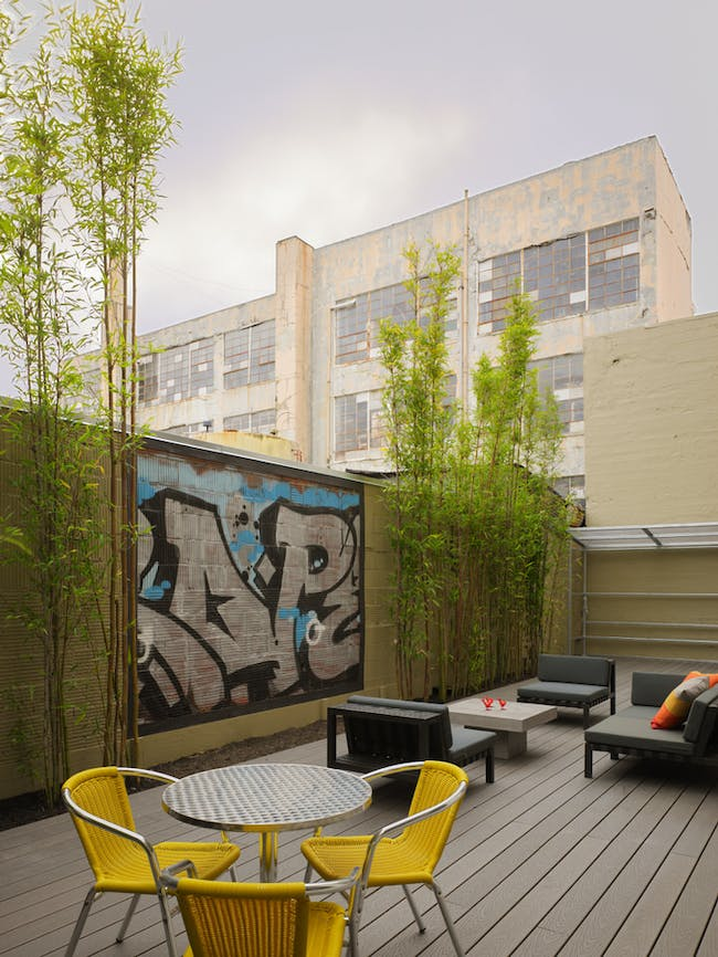 SMARTSPACE SoMa at 38 Harriet in San Francisco, California. Imagecourtesy of PATRICK KENNEDY, PANORAMIC INTERESTS