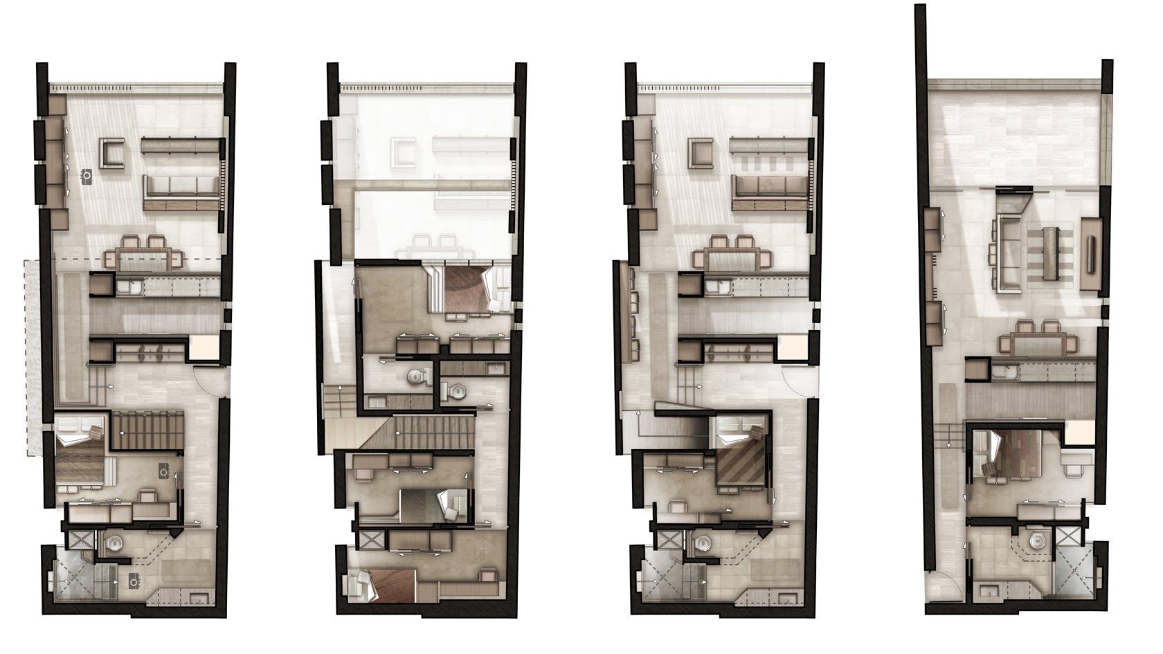 Tribrut Apartment Building Gavin Crump Archinect
