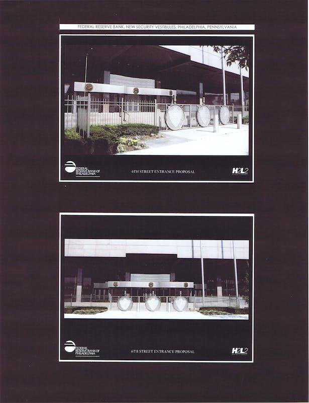 View of 6th Street Entry Vestibule